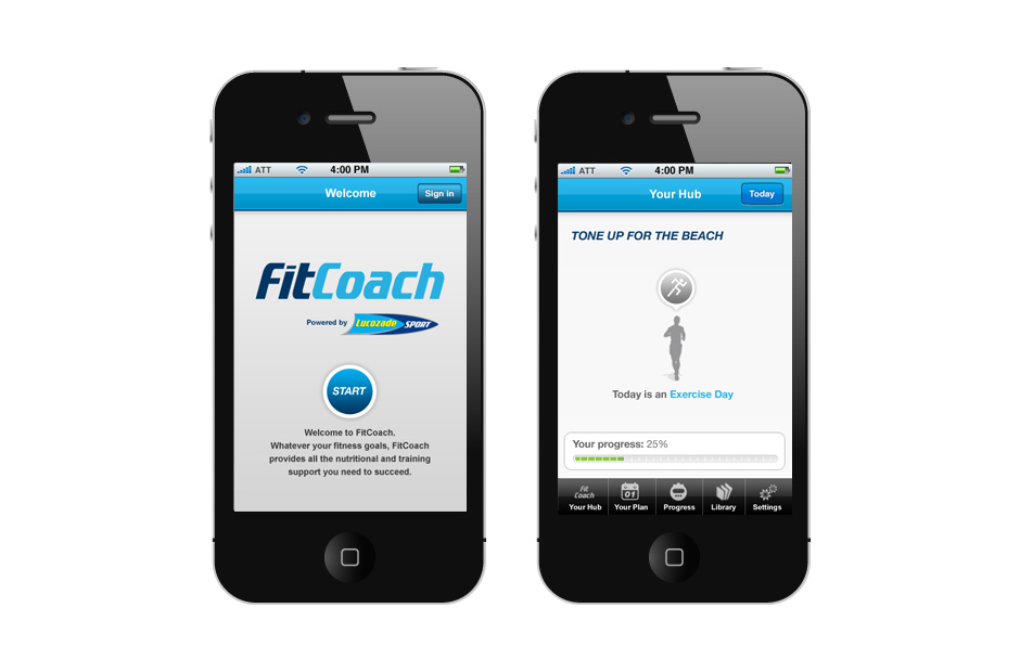 Lucozade Fit Coach